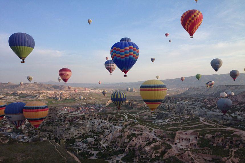 Kappadokien Anatolien, Türkei